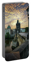 Charles Bridge, Prague, Czech Republic Portable Battery Charger