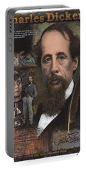 Charles Dickens Portable Battery Charger
