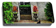 Charleston Cat Portable Battery Charger by Joan  Minchak