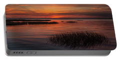 Charleston Lowcountry At Dusk Portable Battery Charger