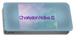 Charleston Native Text 1 Portable Battery Charger