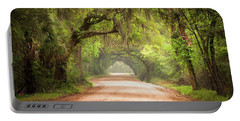 Charleston Sc Edisto Island Dirt Road - The Deep South Portable Battery Charger