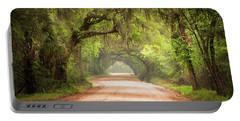 Charleston Sc Edisto Island Dirt Road - The Deep South Portable Battery Charger