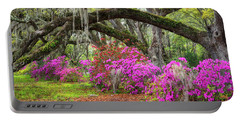 Charleston South Carolina Spring Flowers Lowcountry Landscape Photography Portable Battery Charger