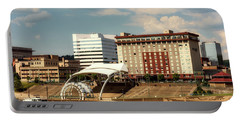 Charleston West Virginia Portable Battery Charger by L O C