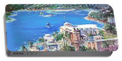 Charlotte Amalie Marriott Frenchmans Beach Resort St. Thomas Us Virgin Island Aerial Portable Battery Charger