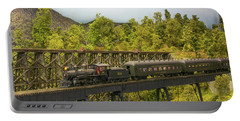 Portable Battery Charger featuring the photograph Charlotte Harbor And Northern Railroad by John Black