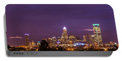 Charlotte, North Carolina Sunrise Portable Battery Charger by Serge Skiba