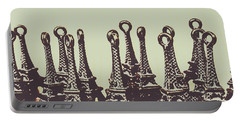 Charming Europe Landmarks Portable Battery Charger