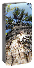 Charred Palm Tree Portable Battery Charger