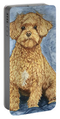 Chase The Maltipoo Portable Battery Charger