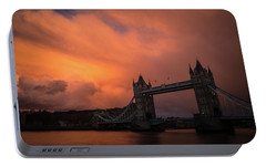 Portable Battery Charger featuring the photograph Chasing Clouds by Alex Lapidus
