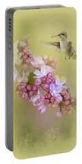 Chasing Lilacs Portable Battery Charger by Jai Johnson