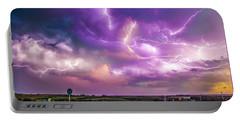 Chasing Nebraska Lightning 056 Portable Battery Charger