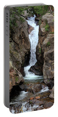 Portable Battery Charger featuring the photograph Chasm Falls - Panorama by Shane Bechler