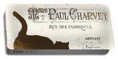 Chat Noir Paris Portable Battery Charger