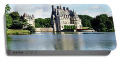Portable Battery Charger featuring the photograph Chateau De La Bretesche - Missillac, France by Joseph Hendrix