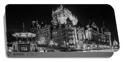 Chateau Frontenac Portable Battery Charger by Chris Bordeleau
