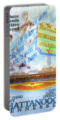 Chattanooga Historic Baseball Poster Portable Battery Charger