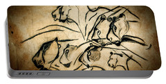 Chauvet Cave Lions Portable Battery Charger