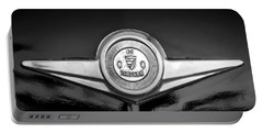 Checker Emblem -1104bw Portable Battery Charger