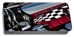 Checkered Flag Portable Battery Charger