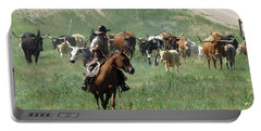 Checking The Cattle Portable Battery Charger
