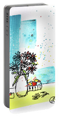 Cheeky Daisies Portable Battery Charger