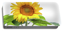 Portable Battery Charger featuring the photograph Cheerful Flower Cheerful Mood by Jenny Rainbow