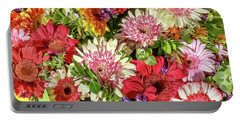 Cheerful Spring Collection - Gerbera Daisies Portable Battery Charger