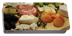 Cheese And Meat Portable Battery Charger
