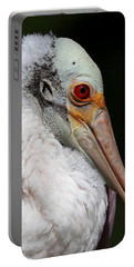 Cheese Puff Face - Roseate Spoonbill Portable Battery Charger