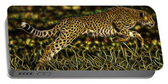 Cheetah Collection Portable Battery Charger