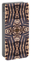 Cheetah Cross Portable Battery Charger by Maria Watt