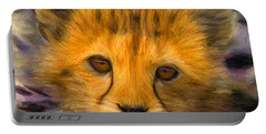 Cheetah Cub Portable Battery Charger