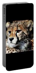 Cheetah Portable Battery Charger by Ellen Henneke