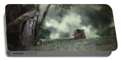 Cheetah On Watch Portable Battery Charger