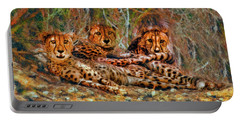 Cheetahs Den Portable Battery Charger