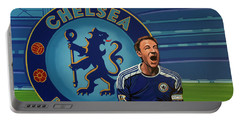 Chelsea London Painting Portable Battery Charger