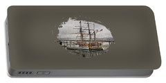 Chelsea Rose And Tall Ships Portable Battery Charger