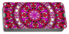 Portable Battery Charger featuring the digital art Chemistry by Robert Orinski