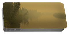Portable Battery Charger featuring the photograph Chena River by Gary Lengyel