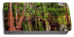 Louisiana Cheniere Lake Bayou Portable Battery Charger by Ester Rogers