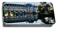 Chenonceau Twilight In Blue - Vintage Version Portable Battery Charger