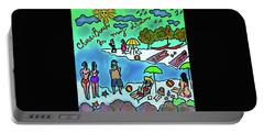 Cherai Beach Portable Battery Charger