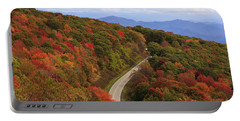 Cherohala Skyway In Nc Portable Battery Charger