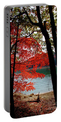 Portable Battery Charger featuring the photograph Cherokee Lake Color by Douglas Stucky