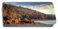 Portable Battery Charger featuring the photograph Cherokee Lake Color II by Douglas Stucky