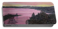 Cherokee Lake Sunset Portable Battery Charger