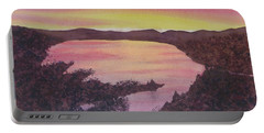 Cherokee Lake Sunset Number Seven Portable Battery Charger